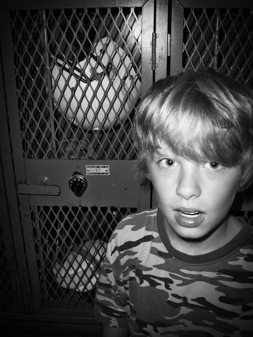 Tyler football locker bw