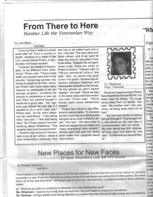 Mchsnewspaper